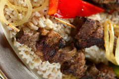 Lamb shashlik Royalty Free Stock Photography