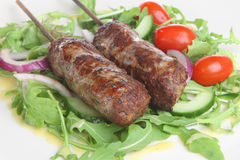 Lamb Shish Kebabs Stock Photography