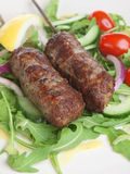 Lamb Shish Kebabs Royalty Free Stock Photography