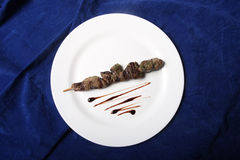 Lamb skewers Royalty Free Stock Image
