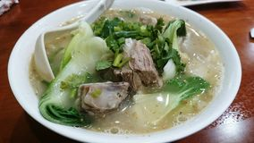 Lamb Soup Noodles Royalty Free Stock Images