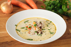 Lamb soup Royalty Free Stock Images
