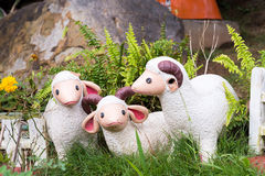 Free Lamb Statue In The Garden.Thailand. Stock Image - 96399341