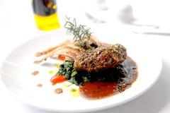 Lamb steak Royalty Free Stock Images