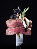 Lamb steak Stock Images