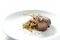 Lamb steak Royalty Free Stock Image