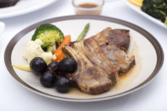 Lamb Steak Stock Photo
