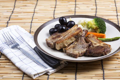 Lamb Steak Royalty Free Stock Images