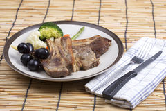 Lamb Steak Royalty Free Stock Image