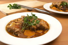 Lamb stew Stock Image