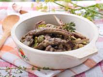 Lamb stew Royalty Free Stock Photo