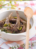 Lamb Stew Stock Photo