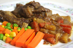Lamb stew Stock Images