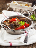 Lamb stew with vegetables Royalty Free Stock Photo
