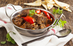 Lamb stew with vegetables Royalty Free Stock Photography
