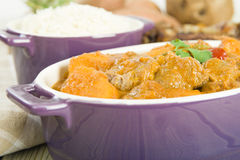 Lamb and Sweet Potato Peanut Stew Stock Photography