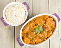 Lamb and Sweet Potato Peanut Stew Royalty Free Stock Image