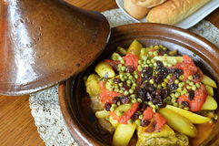 Lamb tagine Royalty Free Stock Photography