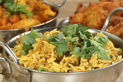 Lamb tikka biryani Royalty Free Stock Photography