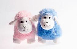 Lamb toys Stock Photos