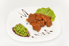 Lamb Vindaloo Royalty Free Stock Photo