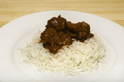 Lamb Vindaloo Stock Photos