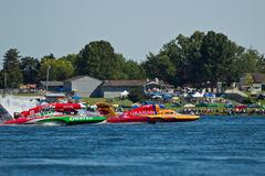 Lamb Weston Columbia Cup hydroplane race Royalty Free Stock Photo