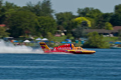 Lamb Weston Columbia Cup hydroplane race Royalty Free Stock Images
