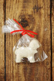 Lamb with white chocolate Royalty Free Stock Image