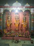 Lambe Hanuman Mandir fotografering för bildbyråer