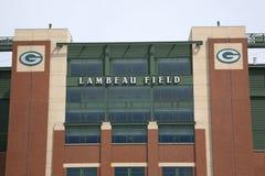 Lambeau Feld - Green Bay-Verpacker Lizenzfreies Stockfoto