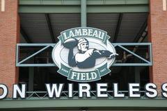 Lambeau Feld - Green Bay-Verpacker Lizenzfreies Stockbild
