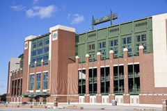 Lambeau Feld im Green Bay, Wisconsin Stockfoto