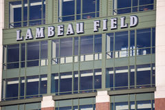 Lambeau Field Stock Photo