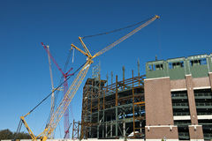 Lambeau Field Construction, Green Bay Packers Royalty Free Stock Photo