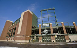 Lambeau Field Green Bay Royalty Free Stock Photography