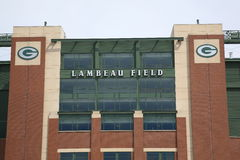 Lambeau Field - Green Bay Packers Royalty Free Stock Photo