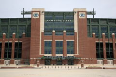 Lambeau Field - Green Bay Packers Royalty Free Stock Photos