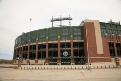 Lambeau Field - Green Bay Packers Royalty Free Stock Image