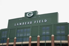 Lambeau Field - Green Bay Packers stock image