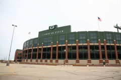 Lambeau Field - Green Bay Packers Stock Images