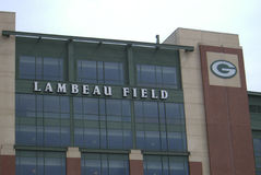 Lambeau Field - Green Bay Packers Stock Photos