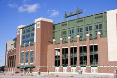 Lambeau Field in Green Bay, Wisconsin Stock Photo