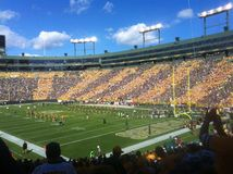 Lambeau Field home of the GreenBay Packers Royalty Free Stock Photography