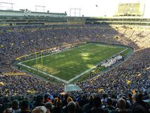 Lambeau Field on a November Day Stock Images
