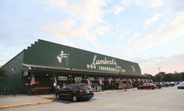 Lambert ` s restauracja, Missouri Zdjęcia Stock