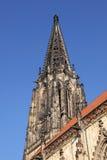 Lamberti kościół w Muenster Zdjęcie Royalty Free