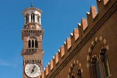 Lamberti torn - Verona Italy Royaltyfri Foto