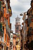 Lamberti Tower Verona Royalty Free Stock Images