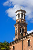 Lamberti Tower - Verona Italy Royalty Free Stock Photos